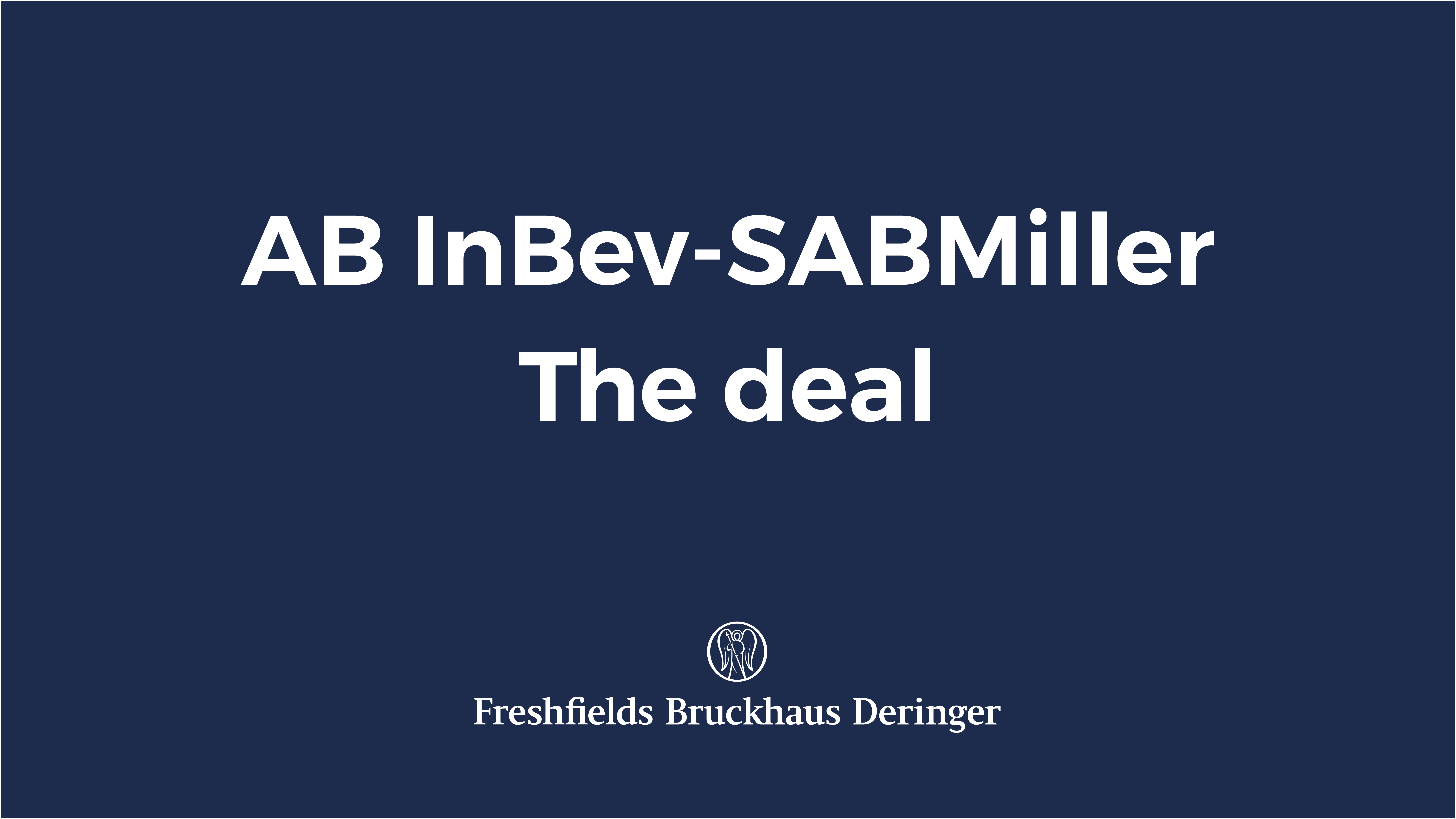 inbev case study The integration of inbev and anheuser-busch once again brings the importance  of supply managements business contribution into the.
